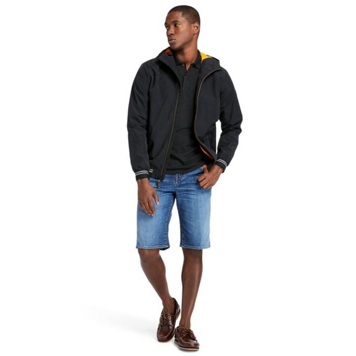 Coastal Cool Siyah Erkek Bomber Ceket
