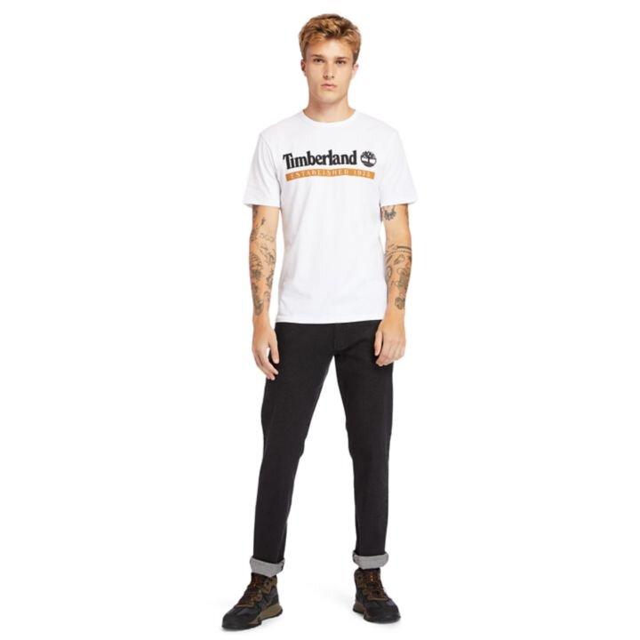 Established 1973 Beyaz Erkek T-Shirt