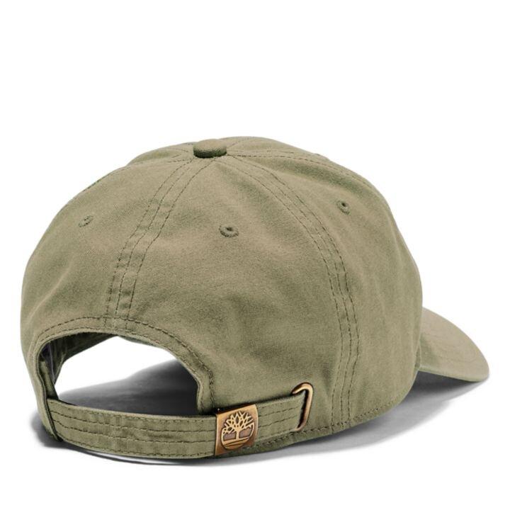 Soundview Koyu Yeşil Erkek Kanvas Şapka
