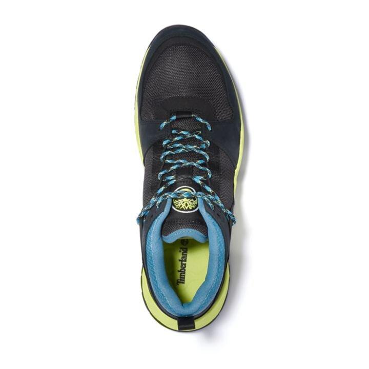 Solar Wave Siyah/Yeşil Erkek Yürüyüş Ayakkabısı