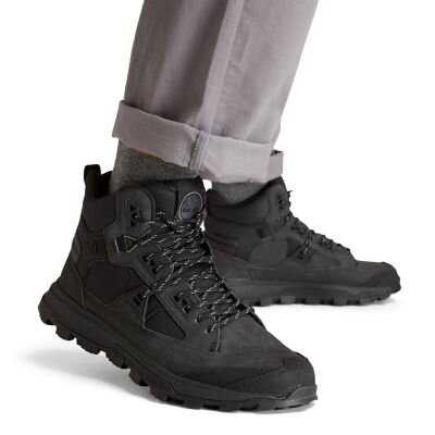 Treeline STR  Monokrom Siyah Erkek Yürüyüş Botu
