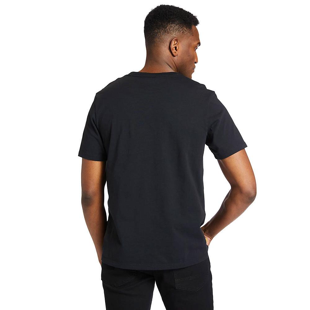 Graphic Tee Logolu Kısa Kollu Siyah Erkek T-shirt