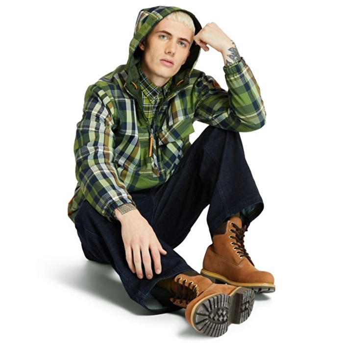 Field Trip Yeşil Çift Taraflı Giyilebilir Erkek Mont