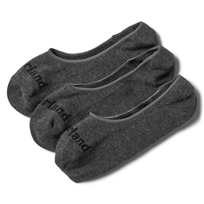 Stratham 3'lü Gri Görünmeyen Kısa Erkek Çorabı