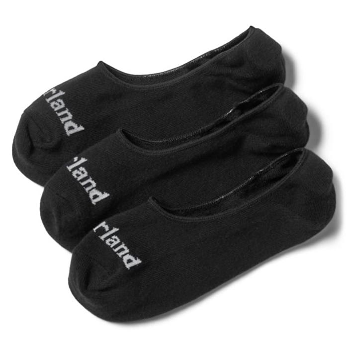 Stratham 3'lü Siyah Görünmeyen Kısa Erkek Çorabı