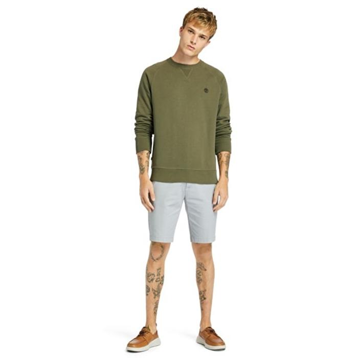 Exeter River Koyu Yeşil Erkek Sweatshirt