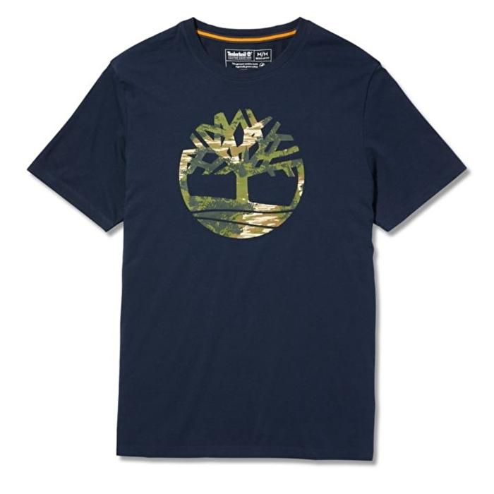 Kennebec River Lacivert Erkek T-shirt