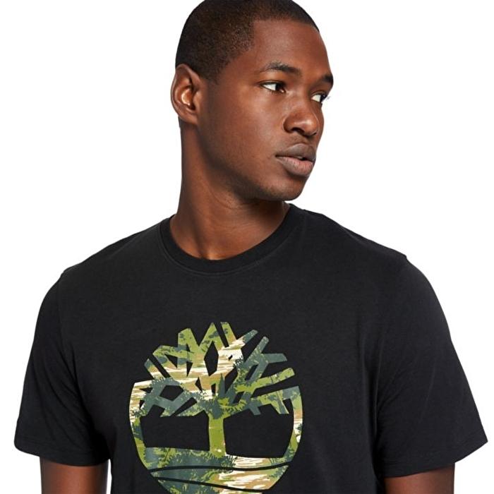 Kennebec River Siyah Erkek T-shirt