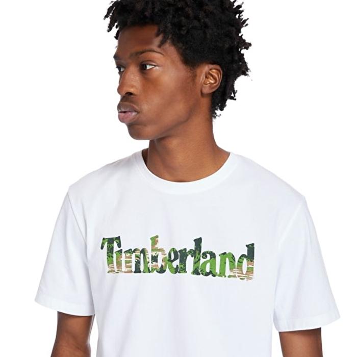 Kennebec River Logolu Beyaz Erkek T-shirt