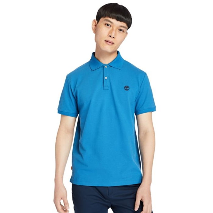 Millers River Deniz Mavisi Erkek Polo Yaka T-Shirt