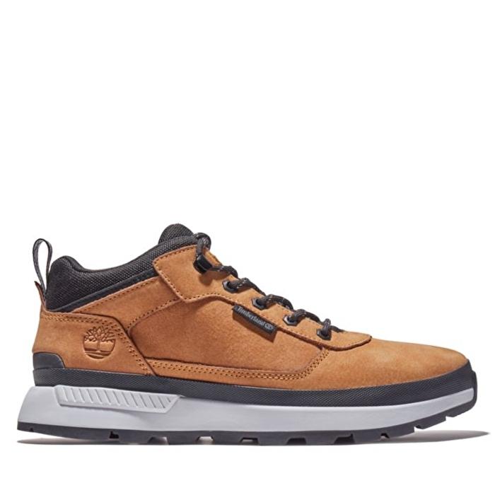 Field Trekker Sarı Erkek Kısa Bilekli Yürüyüş Ayakkabısı