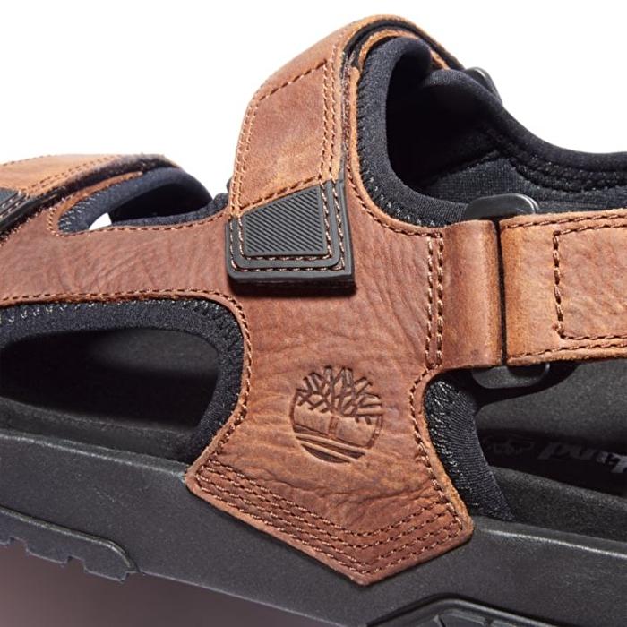 Anchor Watch Kahverengi Arkadan Kayışlı Erkek Sandaleti