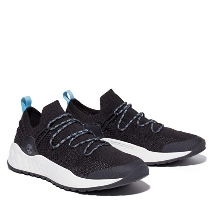 Solar Wave Siyah Erkek Spor Ayakkabı