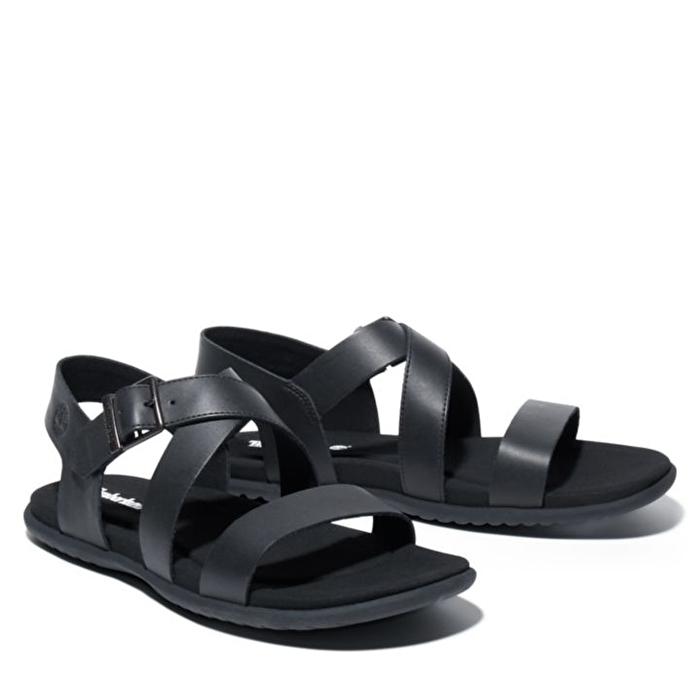 Kesler Cove Siyah Arka Kayışlı Erkek Sandaleti