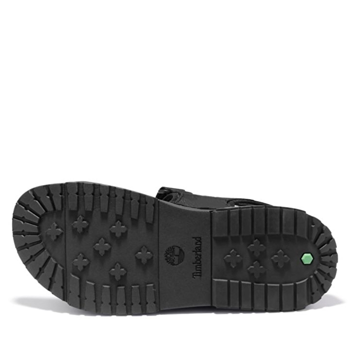Anchor Watch Siyah Arka Kayışlı Erkek Sandaleti