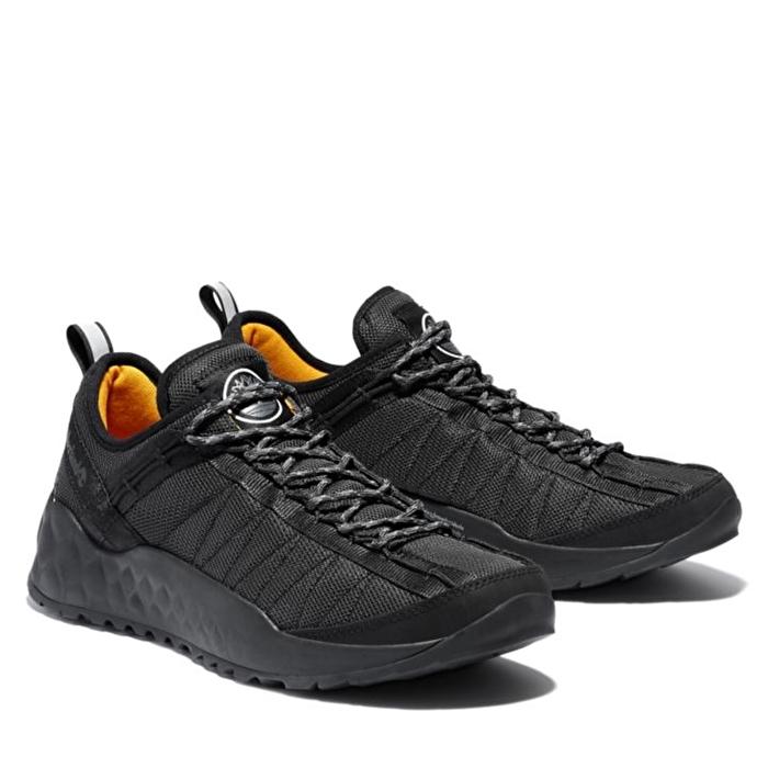 Solar Wave Siyah Mesh Erkek Spor Ayakkabı