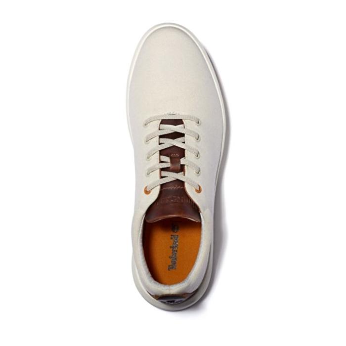 TrueCloud™ EK+ Beyaz Erkek Kanvas Sneaker