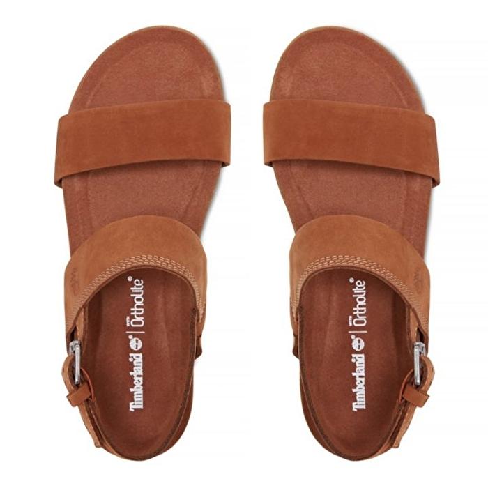 Malibu Waves Kahverengi Kadın Sandalet