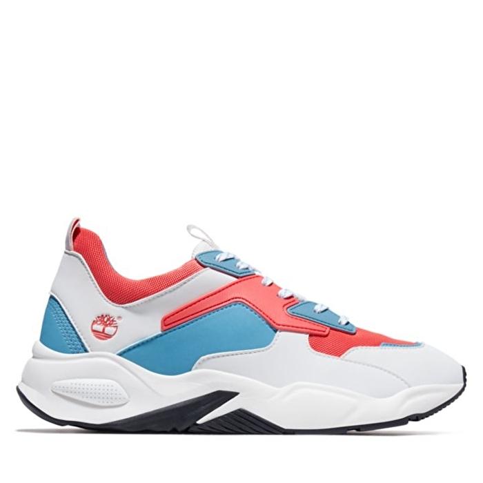 Delphiville Kırmızı Mesh Kadın Sneaker