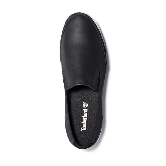 Atlanta Green Siyah Kadın Slip-on Ayakkabı