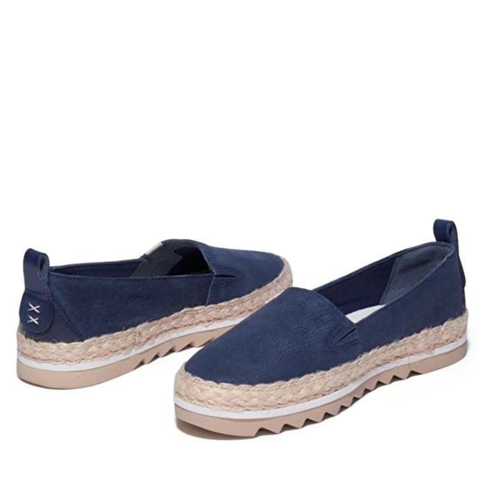 Barcelona Bay Mavi Kadın Slip-on Ayakkabı