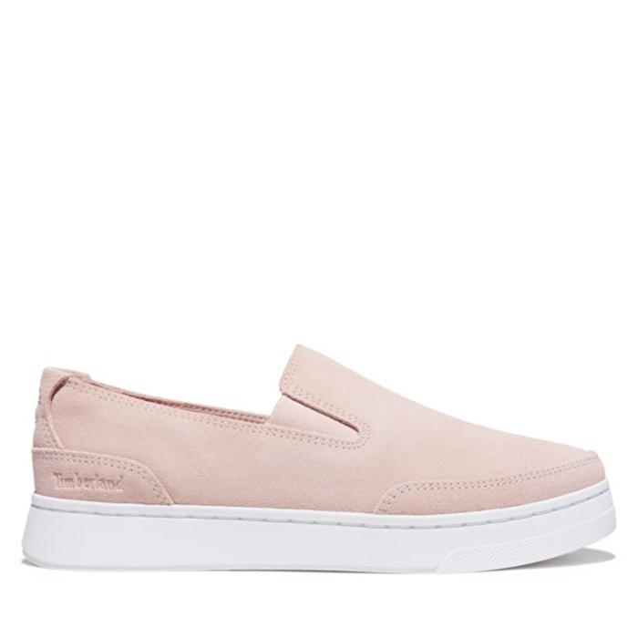 Atlanta Green Pembe Kadın Slip-on Ayakkabı