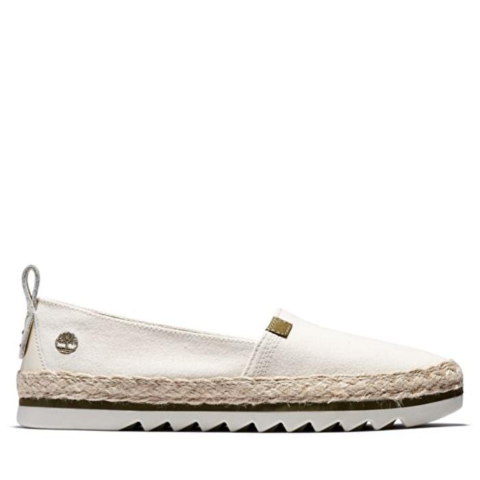 Barcelona Bay EK+ Beyaz Kadın Slip-on Ayakkabı