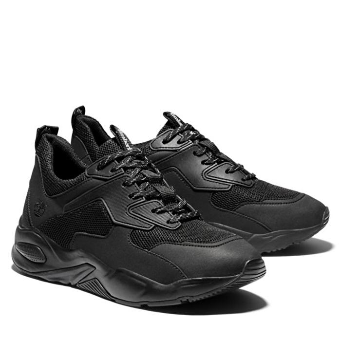 Delphiville Siyah Mesh Kadın Sneaker