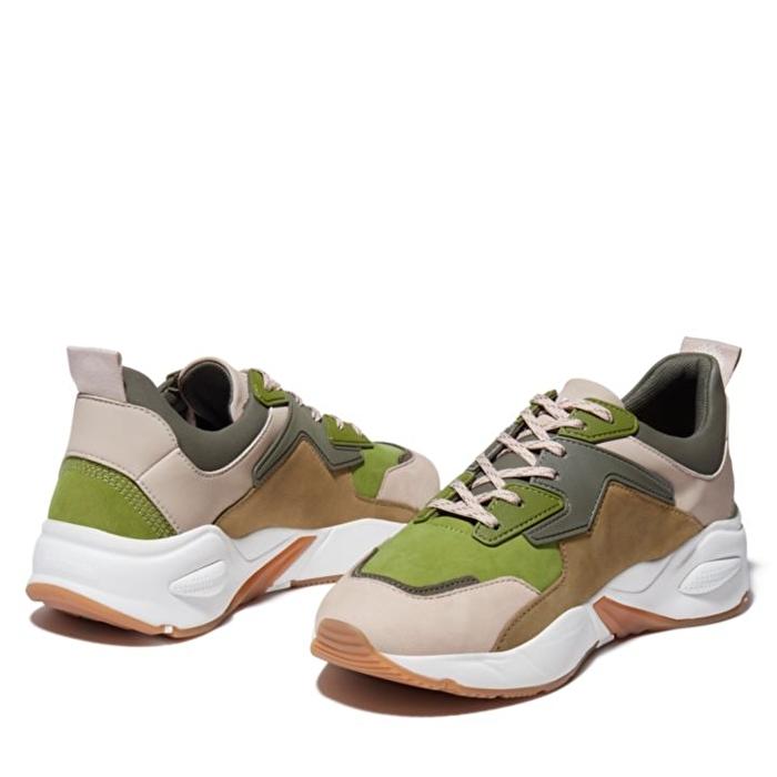 Delphiville Yeşil Kadın Sneaker