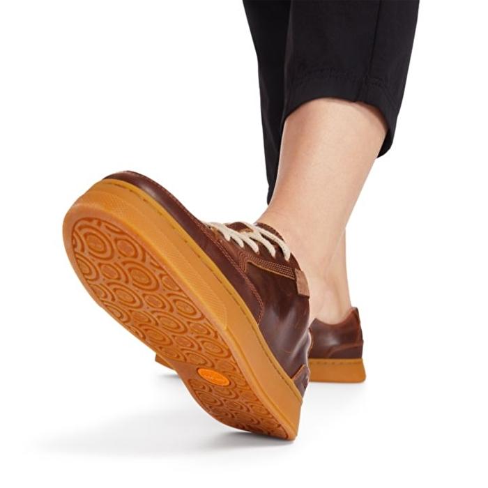 Atlanta Green EK+ Kahverengi Kadın Sneaker