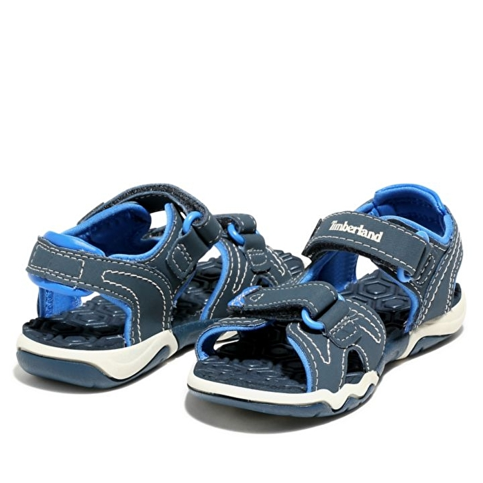 Adventure Seeker Lacivert/Mavi 2 Bantlı Çocuk Sandaleti