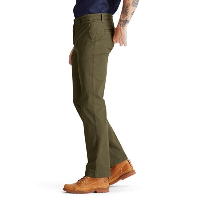 Squam Lake Twill Yeşil Erkek Chino Pantolon