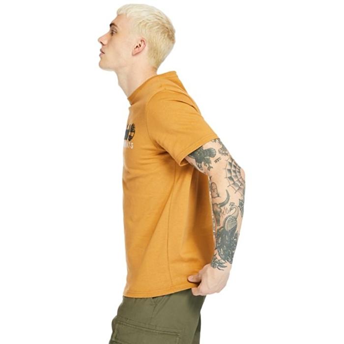Outdoor Heritage Sarı Erkek T-shirt