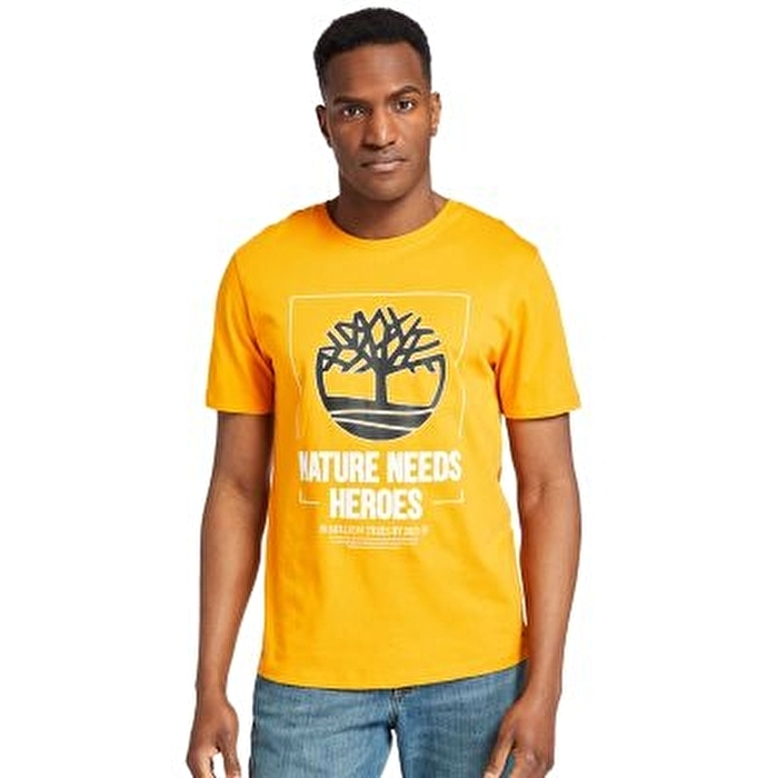 Nature Needs Heroes™ Turuncu Erkek T-shirt