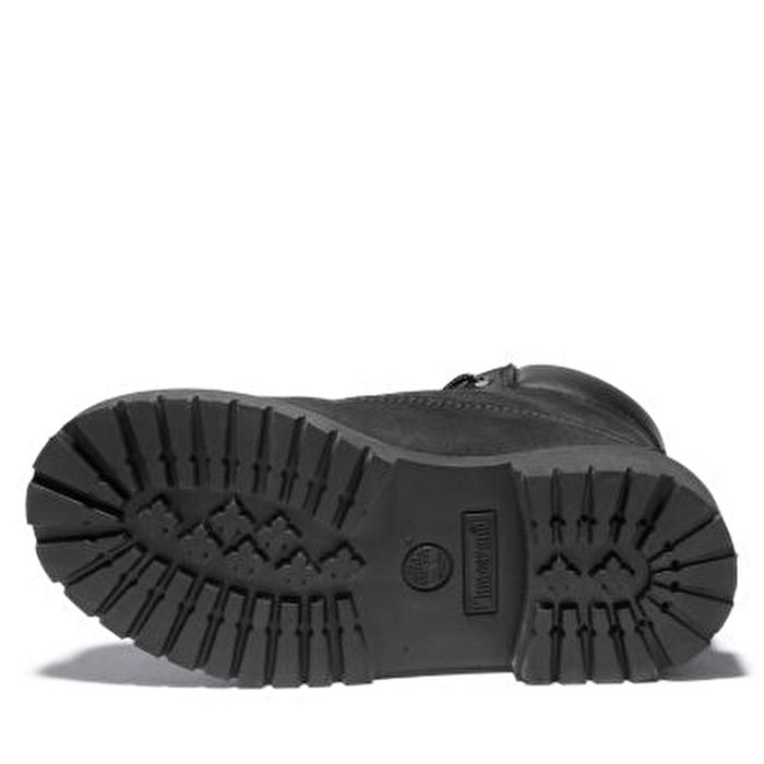 6 inch Premium Siyah Genç Botu