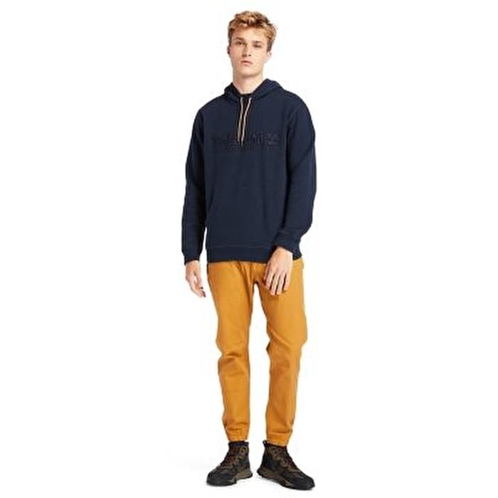 Outdoor Heritage Est. 1973 Erkek Lacivert Kapüşonlu Sweatshirt