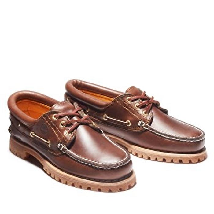 Noreen 3-Eye Kahverengi Kadın Tekne Ayakkabısı
