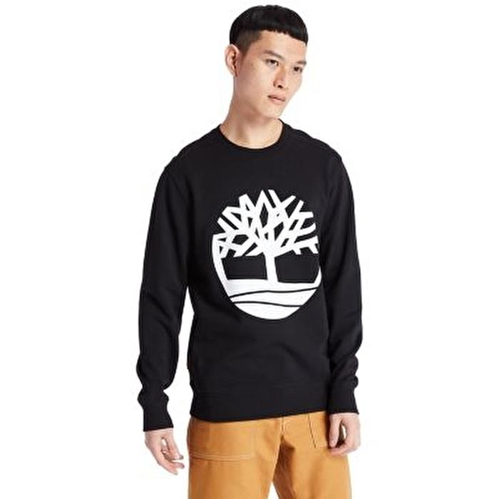 Core Tree Logo Ağaç Logolu Siyah Erkek Eşofman Üstü