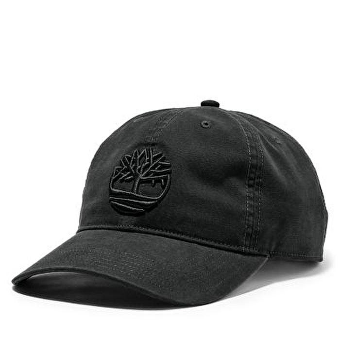 Soundview Pamuk Kanvas Siyah Erkek Şapka