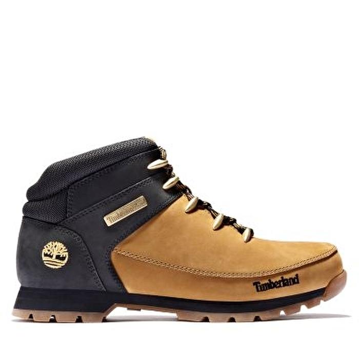 Euro Sprint Mid Hiker Sarı Erkek Yürüyüş Ayakkabısı