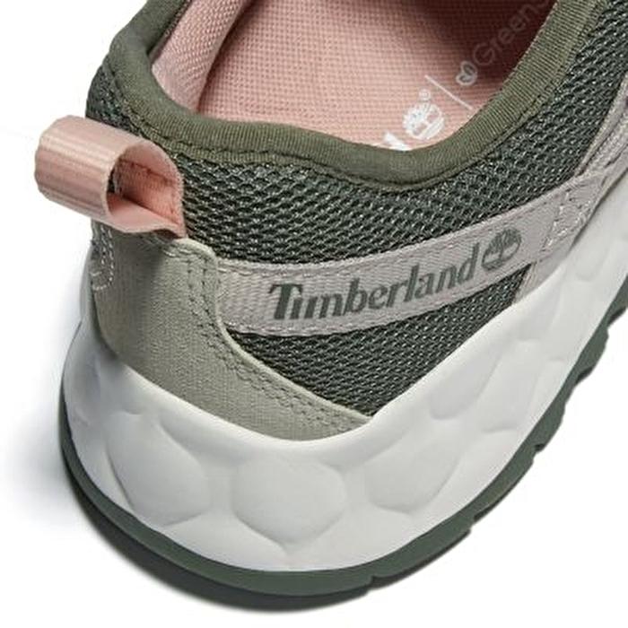 Solar Wave Koyu Yeşil Kadın Spor Ayakkabı