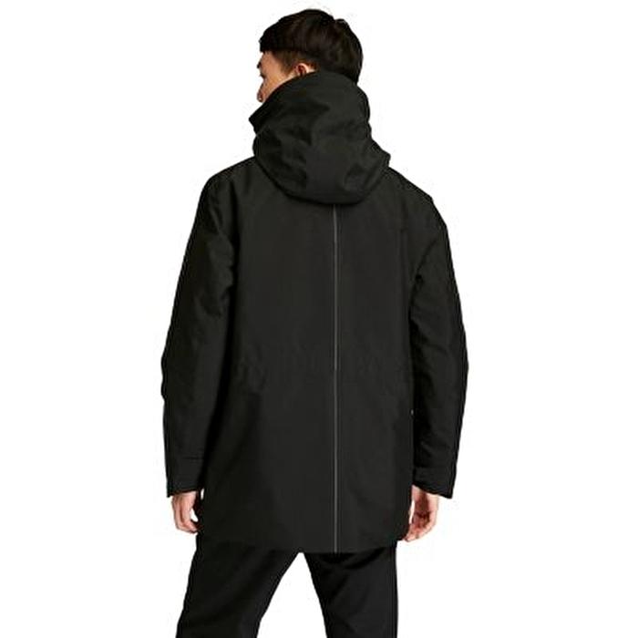 Eco Ready EK+ Siyah 3'ü 1 Arada Erkek Su Geçirmez Ceket
