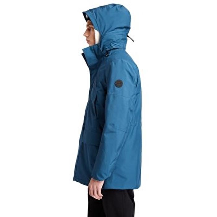 Eco Ready EK+ Mavi 3'ü 1 Arada Erkek Su Geçirmez Ceket