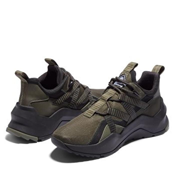 Madbury Kumaş Koyu Yeşil Erkek Spor Ayakkabı