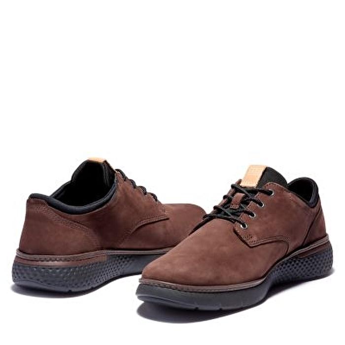 Cross Mark Oxford Koyu Kahverengi Erkek Ayakkabı
