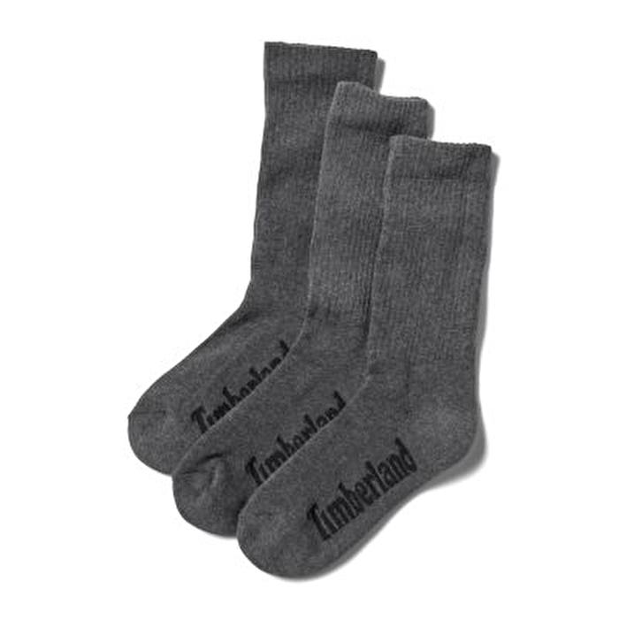 Stratham 3'lü Paket Koyu Gri Erkek Spor Çorabı
