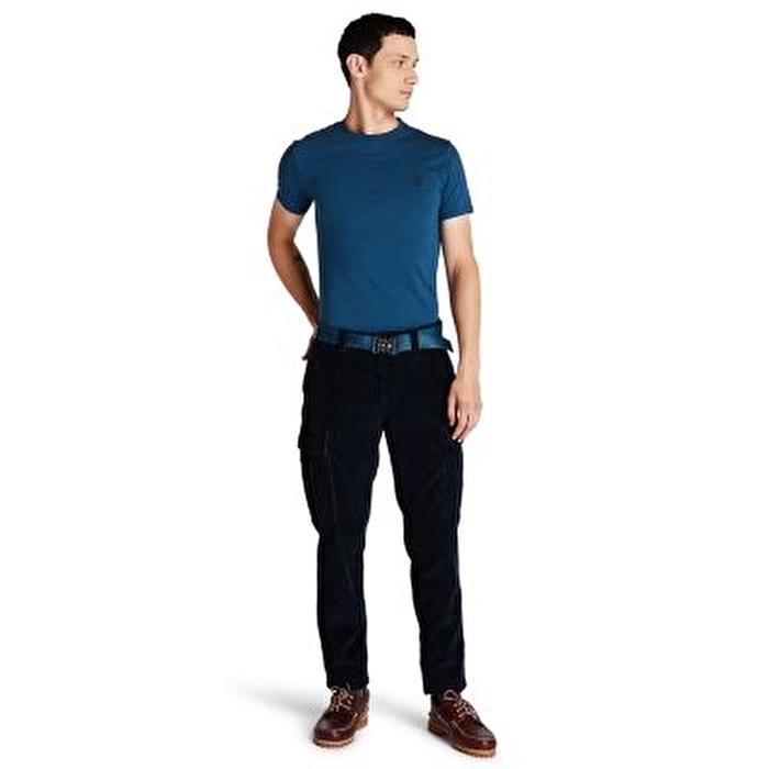 Corduroy Lacivert Erkek Kargo Pantolon