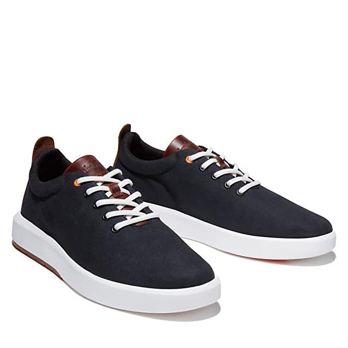 TrueCloud™ EK+ Siyah Erkek Kanvas Sneaker